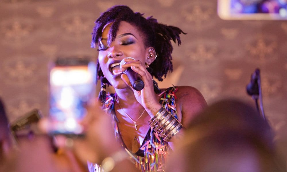 Ebony Reigns is Artiste of the Year