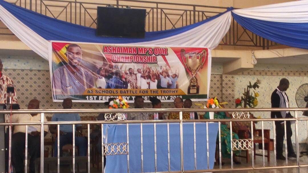 MP For Ashaiman Launches Quiz Competition for constituents