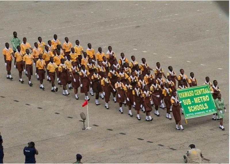 66 pupils in Koforidua, 70 in Kumasi collapse during independence parade