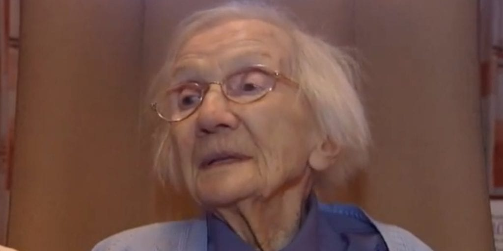VIDEO: 109-Year-Old Woman Says Avoiding Men Is The Secret To A Long Life