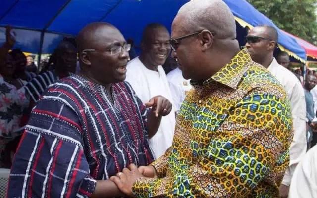 Bawumia's incompetent tag cost me 2016 polls-Mahama admits