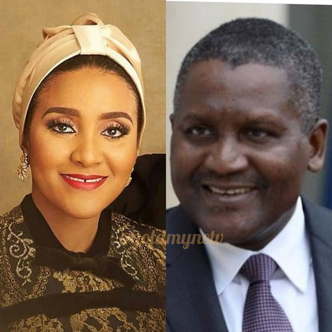 Photos: Billionaire Dangote's daughter Fatima had this shocking wedding