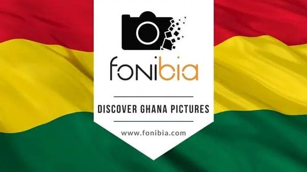 Ghanaian Web Designer places Ghana under an umbrella