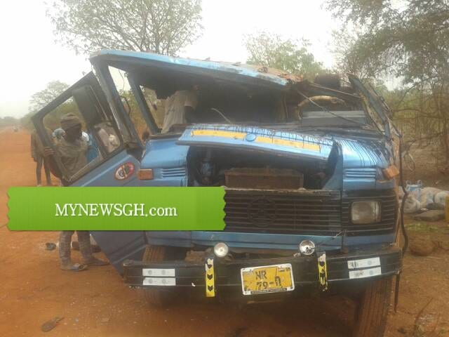Tamale: Two dead, several injured in accident on Tamale – Salaga road