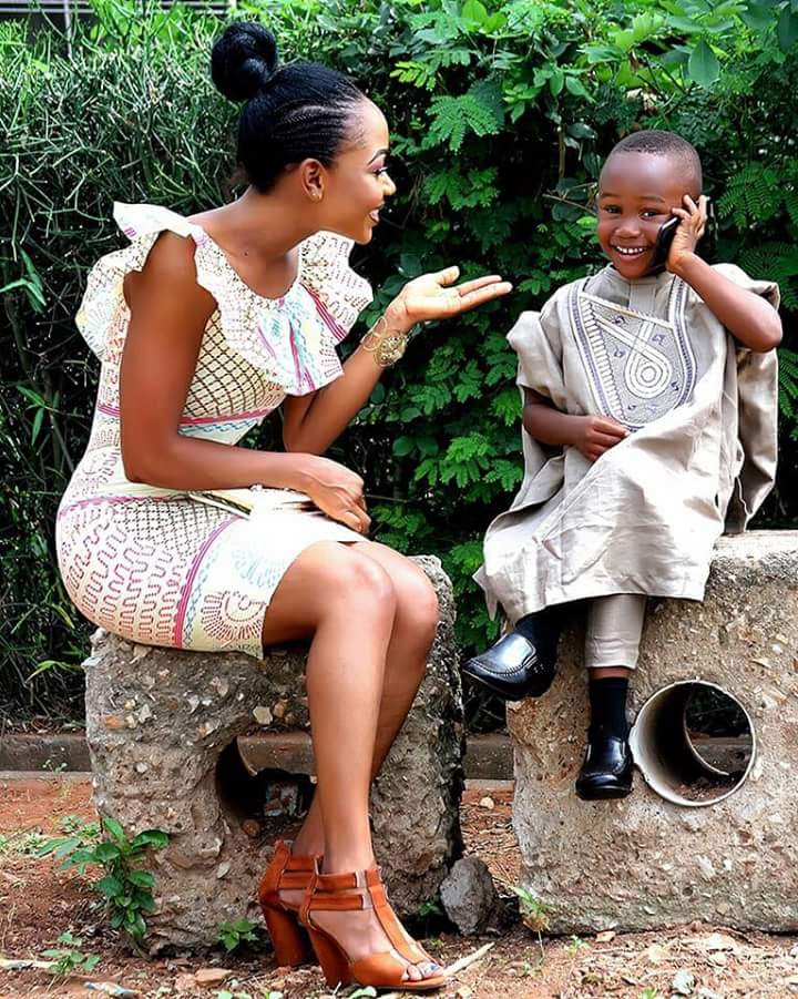 Rosemond Brown flaunts  her handsome son, and everyone is talking about him