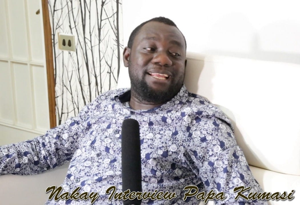 I slept at a hotel reception for 4 days but producer didn't cast me- Papa Kumasi
