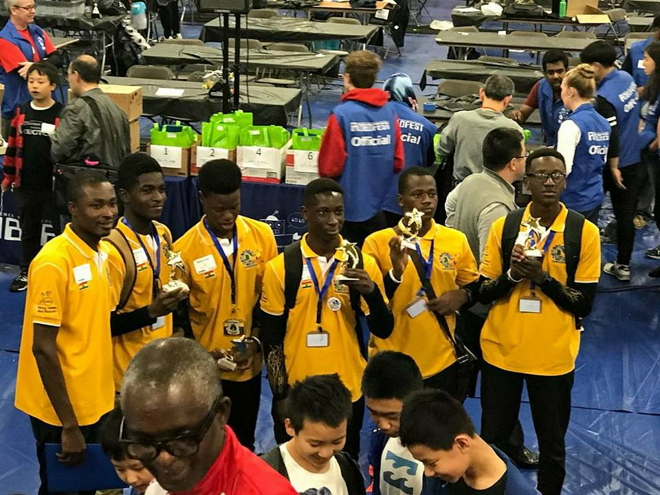 Robotics championship: Ghana's Opoku Ware School are world Champions