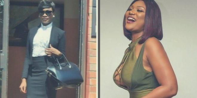 Flat-boobed Paedae's Sandra Ankobiah now 'busty' and fans are asking questions