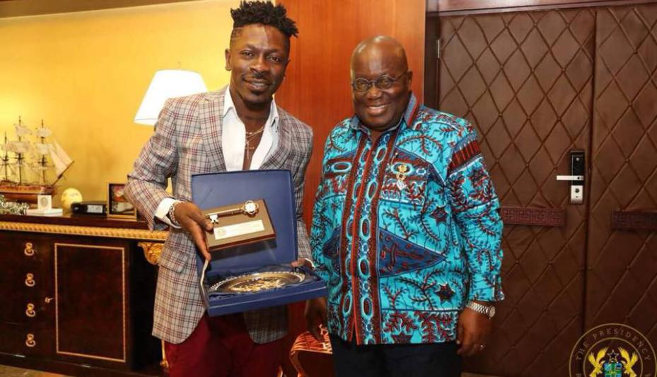 Image result for If Menzgold goes down it means Akufo-Addo hates the youth – Shatta Wale