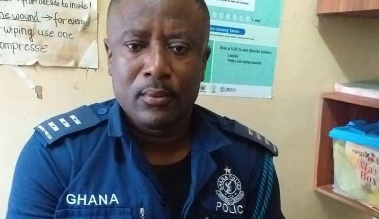 Inspector Charles Yeboah