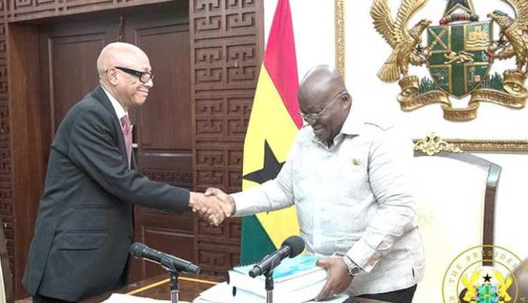 Akufo-Addo and Justice Emile Short