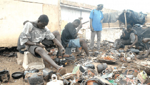 The scrap dealers say they are disappointed that Bawumia has not intervened in their case