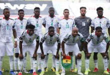 Black Stars in a group photo