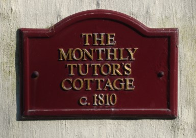 Monthly Tutor's cottage