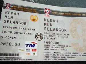 tiket final piala malaysia 2016,