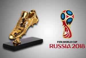 KASUT EMAS 2018, golden boot world cup 2018,