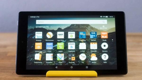 Amazon Fire HD 8 Software