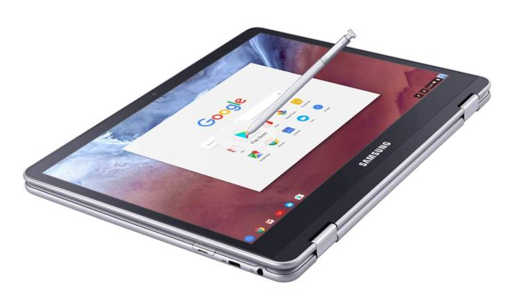 Samsung Chromebook Pro and Plus Tablets