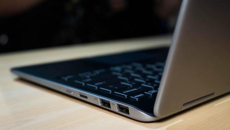 Samsung Notebook 9 Pro Ports