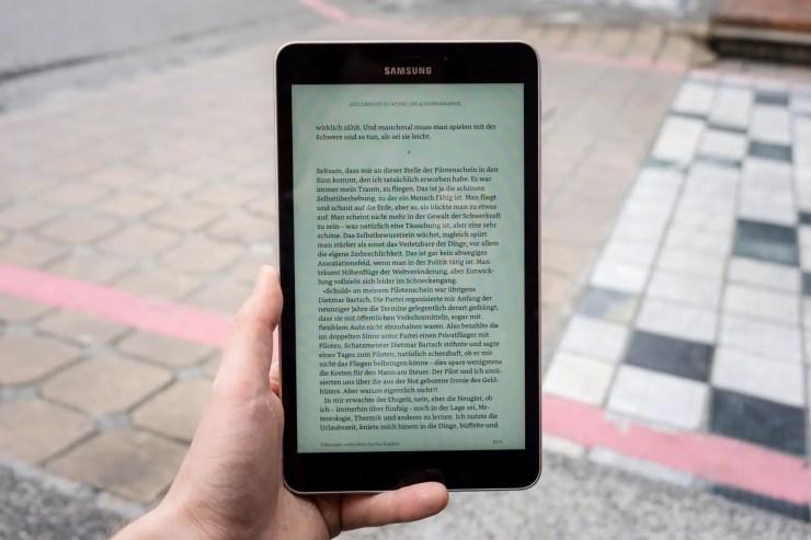 Samsung Galaxy Tab A 8.0 2017 screen