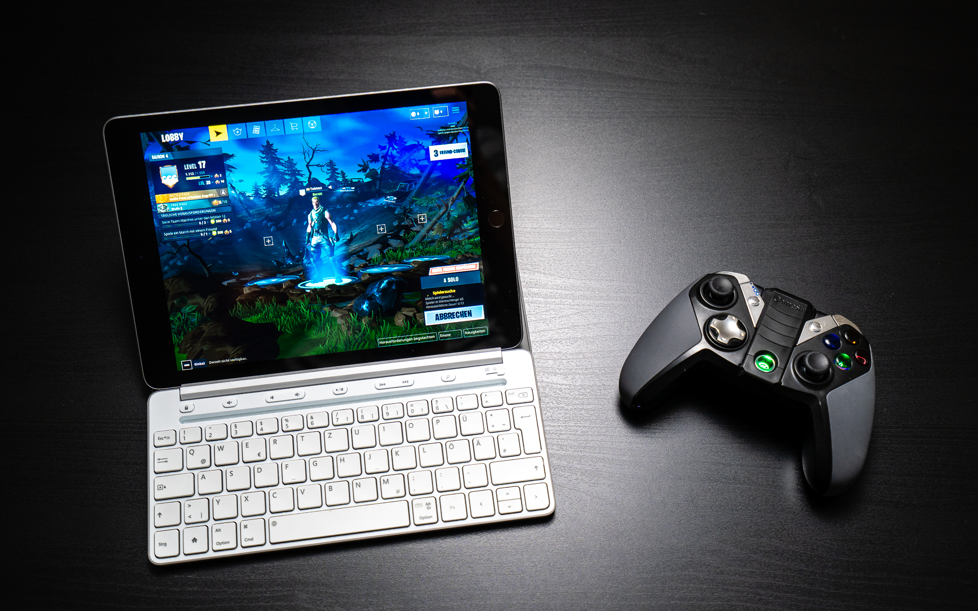 Fortnite For Ipad Can You Play With Keyboard Mouse Or Controller
