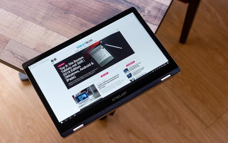 Teclast F6 Pro Tablet Mode