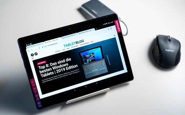 Lenovo Tab M10 with Chrome