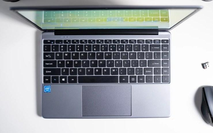 Chuwi HeroBook keyboard