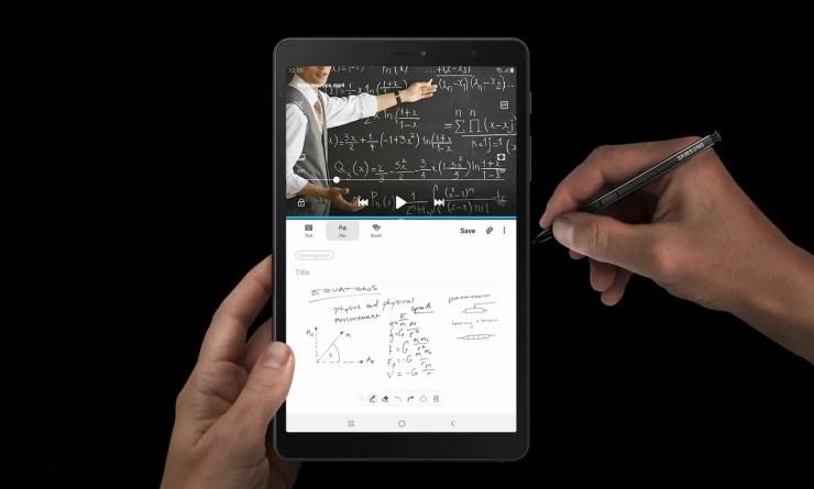 Samsung Galaxy Tab A Plus 8.0 with stylus