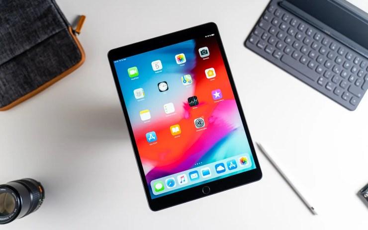 iPad Air 2019 with iOS