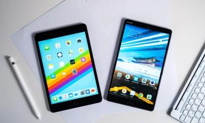 iPad Mini 2019 vs Huawei MediaPad M5 8 comparison
