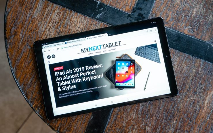 Samsung Galaxy Tab A 10.1 2019 experience