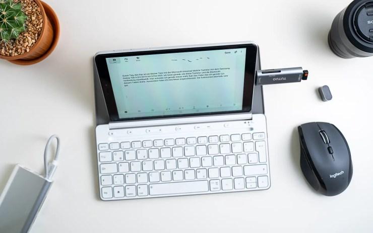 Samsung Galaxy Tab A 8.0 2019 keyboard