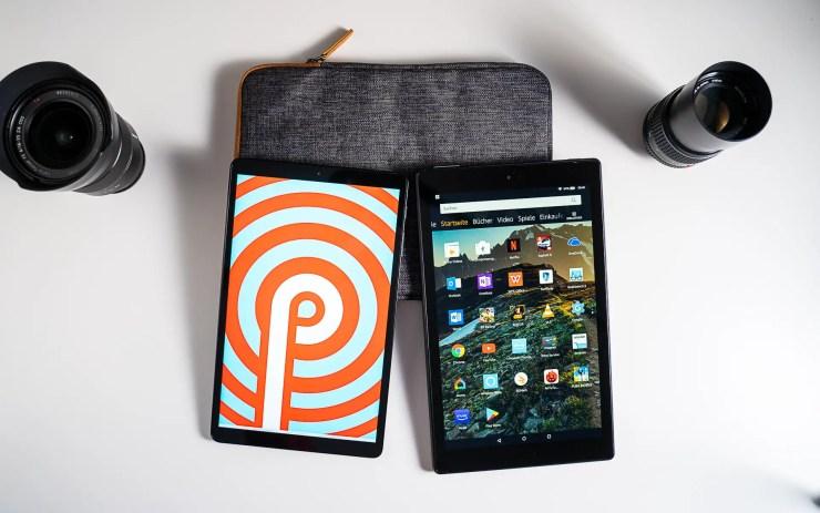 Samsung Galaxy Tab A 10.1 vs. Amazon Fire HD 10 Software