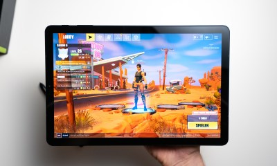 Samsung Galaxy Tab S4 with Fortnite