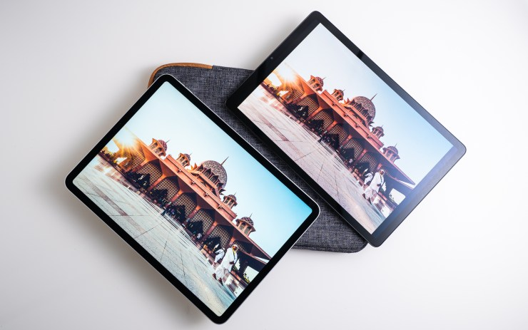 Samsung Galaxy Tab S5e vs. iPad Pro Display