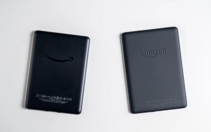 Amazon Kindle vs Paperwhite Design