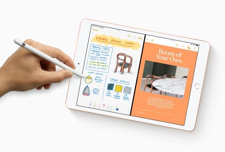 Apple iPad 7 with Apple Pencil