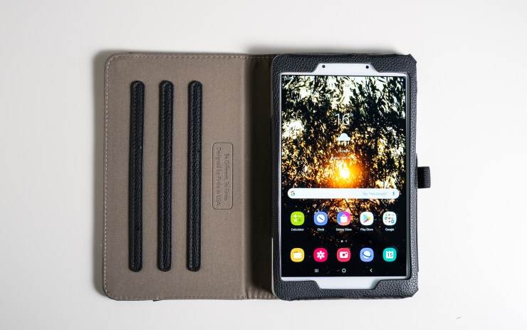Galaxy Tab A 8.0 with Fintie case