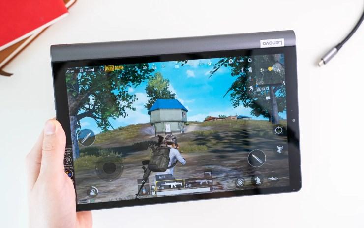 Lenovo Yoga Smart Tab gaming