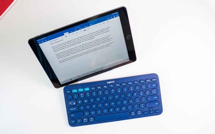 Logitech K380 with iPad