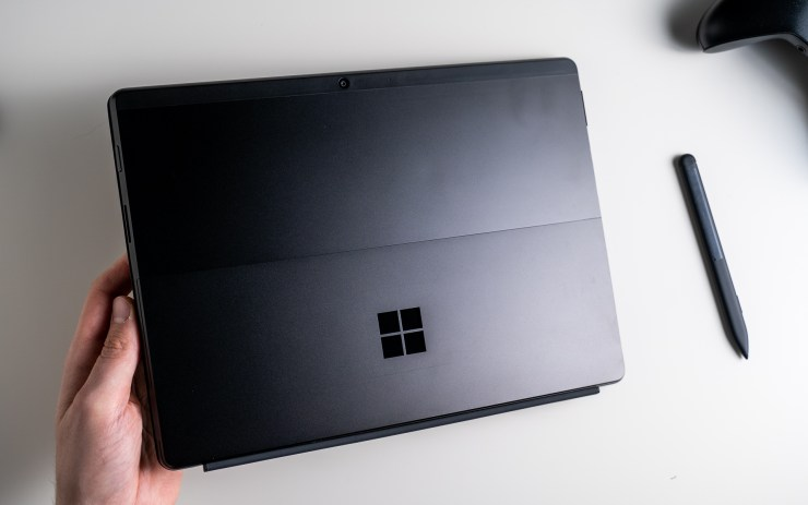 Microsoft Surface Pro X design