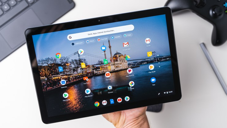 Lenovo Duet Chromebook display