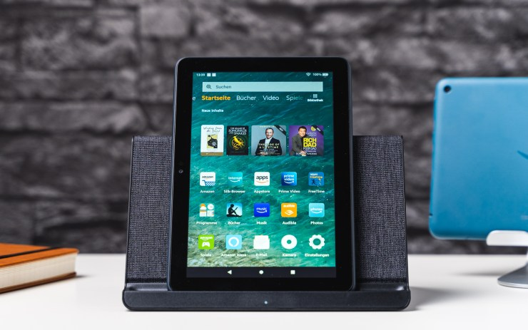 Amazon Fire HD 8 Plus with wireless Charging Dock