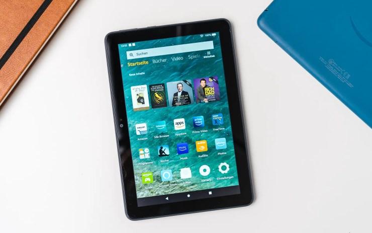 Amazon Fire HD 8 Plus Test