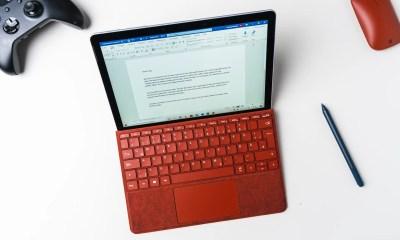 Microsoft Surface Go 2 office work