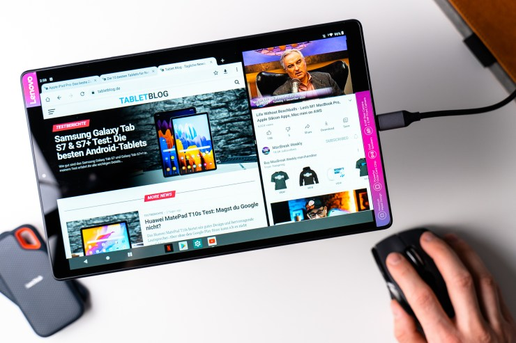 Lenovo Tab M10 HD 2nd Gen work mode