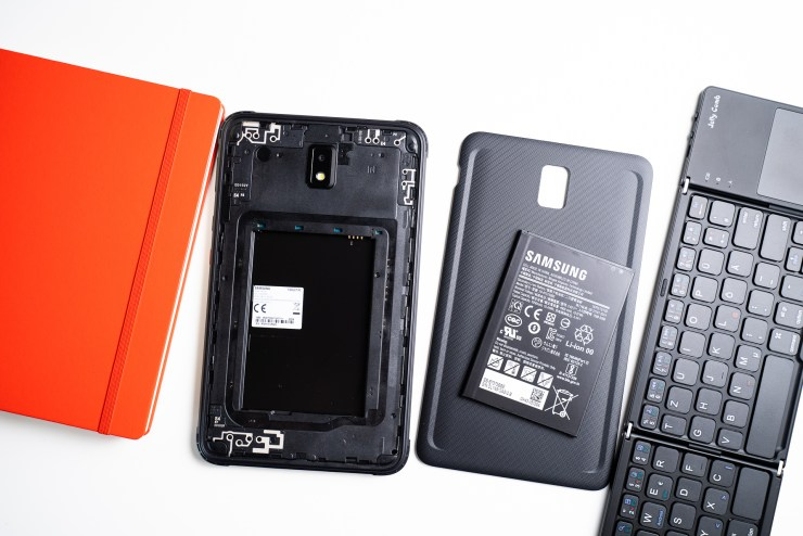 Samsung Galaxy Tab Active 3 removable battery