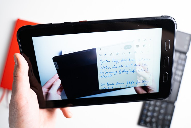 Samsung Galaxy Tab Active 3 with Samsung Notes