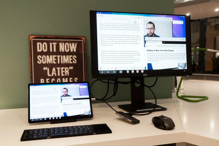 Lenovo Tab P11 Pro productivity mode
